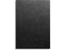 Weekly A5 konstläder svart 2022