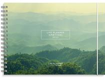 Veckokalender Life Planner grön A5L 2022