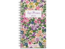 Veckokalender Life Planner Flower slim 2022