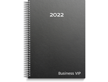 Business VIP skinn svart 2022