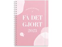 Veckokalender Få det gjort A5 rosa 2022