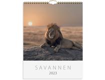 Väggkalender Savannen 2022