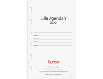 Compact kalendersats Lilla Agendan 2022