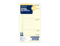 Filofax Personal Dagbok refill 2022