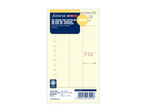 Filofax Personal Dagbok refill 2022 vertikal