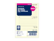 Filofax Pocket Dagbok refill 2022
