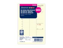 Filofax Pocket Dagbok refill 2022 vertikal
