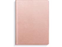 Stora Noteskalendern rosa konstläder 2022