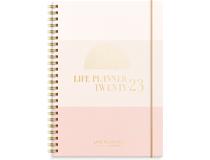 Life Planner Pink horisontell 2022