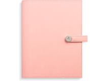 Dagbok rosa konstläder med slejf 2022