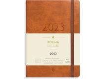 Liten Veckokalender Forma Deluxe brun 2022