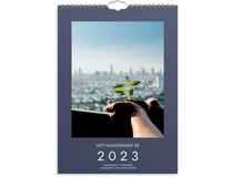 Väggkalender Mitt klimatsmarta år 2022