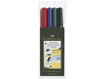 OH-penna/märkpenna Faber-Castell Multimark 1523 SF 4st/set