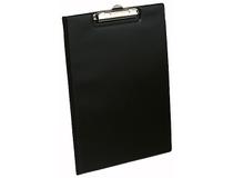 Skrivplatta A4 med omslag svart