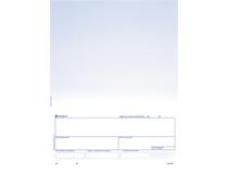 """Laserark 812 blå+4"""" BG 900st/kartong"""