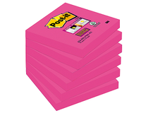 Post-it SS kub 76x76 Fuchsia rosa 6st/fp