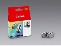 Bläckpatron Canon BCI-15BK 80 sidor svart 2st/fp