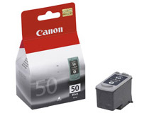 Bläckpatron Canon PG-50BK 300 sidor svart