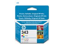 Bläckpatron HP No343 330 sidor 3-färg
