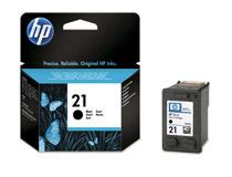 Bläckpatron HP No21 190 sidor svart