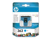 Bläckpatron HP No363 400 sidor cyan