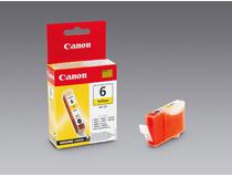 Bläckpatron Canon BCI-6Y 280 sidor gul