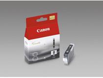 Bläckpatron Canon CLI-8BK 490 sidor svart
