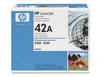Toner HP LJ 4250/4350 Q5942A 10k svart