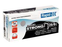 Häftklammer Rapid Super Strong 26/8+ 5000st/ask