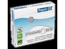 Häftklammer Rapid Standard 23/12 1000st/ask