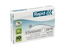 Häftklammer Rapid Standard 23/10 1000st/ask