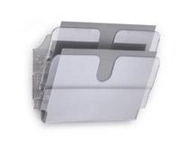 Blankettfack Flexiplus 2 fack A4 liggande transparent 2st/fp