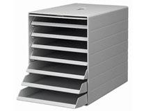 Förvaringsbox Idealbox ljusgrå