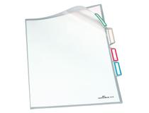 Sorteringsmapp A4 3-delad transparent 5st/fp