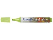Överstrykningspenna Friendly grön 10st/fp